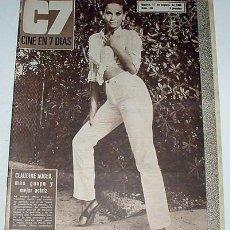 Cine: ANTIGUA REVISTA CINE EN 7 DIAS Nº 284 - 17 SEPTIEMBRE 1966. Lote 849336