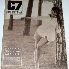 Cine: ANTIGUA REVISTA CINE EN 7 DIAS Nº 281 - 27 AGOSTO 1966. Lote 955638