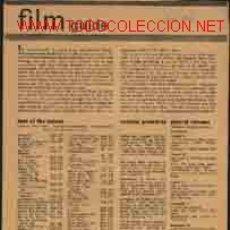Cine: FILM GUIDE 17 SUPLEMENTOS. Lote 1825000