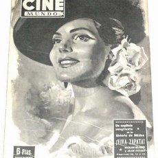 Cine: ANTIGUA REVISTA CINE MUNDO Nº 24 - AGOSTO 1952 - NUMERO EXTRAORDINARIO. Lote 11187124