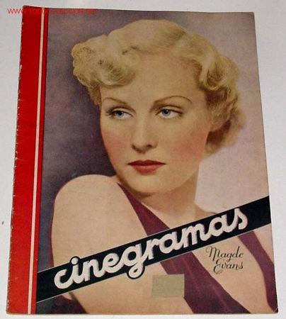 ANTIGUA REVISTA CINEGRAMAS Nº 67 - DICIEMBRE 1935 (Cine - Revistas - Cinegramas)