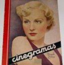 Cine: ANTIGUA REVISTA CINEGRAMAS Nº 67 - DICIEMBRE 1935. Lote 840579
