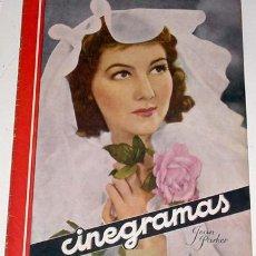 Cine: ANTIGUA REVISTA CINEGRAMAS Nº 66 - DICIEMBRE 1935. Lote 864222