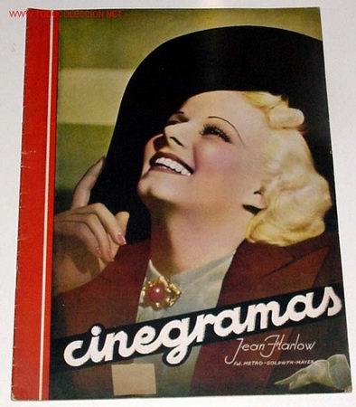 ANTIGUA REVISTA CINEGRAMAS Nº 84 - ABRIL 1936 (Cine - Revistas - Cinegramas)