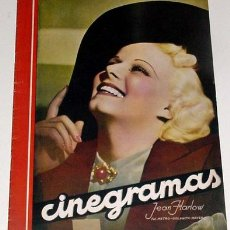 Cine: ANTIGUA REVISTA CINEGRAMAS Nº 84 - ABRIL 1936. Lote 52852790