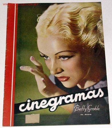 ANTIGUA REVISTA CINEGRAMAS Nº 85 - ABRIL 1936 (Cine - Revistas - Cinegramas)