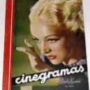 Cine: ANTIGUA REVISTA CINEGRAMAS Nº 85 - ABRIL 1936. Lote 852476