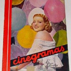 Cine: ANTIGUA REVISTA CINEGRAMAS Nº 79 - MARZO 1936. Lote 808798