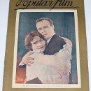 Cine: ANTIGUA REVISTA DE CINE - POPULAR FILM Nº 58 - SEPT. 1927 - BARCELONA - 18 PAGINAS. Lote 817914