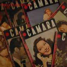 Cinema: CAMARA, REVISTA CINEMATOGRÁFICA ESPAÑOLA. SE VENDEN POR SEPARADO, POR UNIDADES.. Lote 53660250