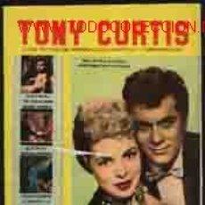 Cine: TONY CURTIS. COLECCIÓN CINECOLOR Nº21. Lote 11881575