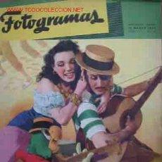 Cine: FOTOGRAMAS. Nº9 AÑO II. 15 MARZO 1947. Lote 909088