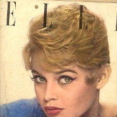Cine: ANTIGUA REVISTA // ELLE 1956 // BRIGITTE BARDOT . Lote 19976489