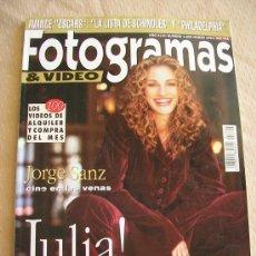 Cine: FOTOGRAMAS. Nº 1806 - JULIA ROBERTS.. Lote 26920789