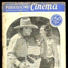 Cine: PUBLICACIONES CINEMA. Nº 20. EXTERMINIO. BUCK JONES, CHARLOTTE WYNTERS. Lote 3488757