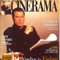 Cinema: CINERAMA Nº 45 (TRAVOLTA,MARILYN MONROE, ANTHONI HOPKINS...). Lote 3689979