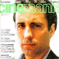 Cine: CINEMANIA Nº 10 (ENTREVISTA EXCLUSIVA ANDY GARCÍA). Lote 3766532