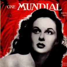 Cine: REVISTA CINE MUNDIAL TAPA SUSAN HAYWOR - 1947. Lote 5265144