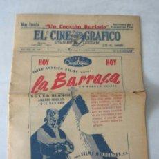 Cine: EL CINE GRAFICO 29 .. JULIO 1945. Lote 16477910