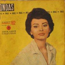 Cine: SOPHIA LOREN EN LA REVISTA ONDAS SOFIA LOREN. Lote 26604082