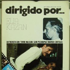 Cine: DIRIGIDO POR... Nº 36 ELIA KAZAN SAM PECKIMPAH. Lote 3968249