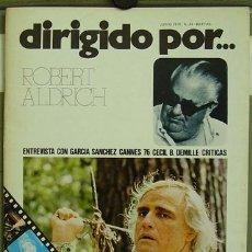 Cine: DIRIGIDO POR... Nº 34 ROBERT ALDRICH CECIL B. DEMILLE. Lote 3968311