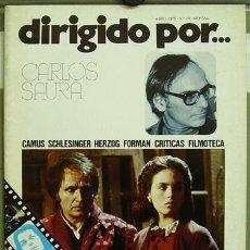 Cine: DIRIGIDO POR... Nº 32 CARLOS SAURA FORMAN . Lote 3968336
