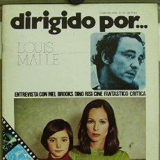 Cine: DIRIGIDO POR... Nº 30 LOUIS MALLE DINO RISI CINE FANTASTICO. Lote 3968360