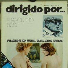 Cine: DIRIGIDO POR... Nº 23 FRANCESCO ROSI KEN RUSSELL. Lote 3968690