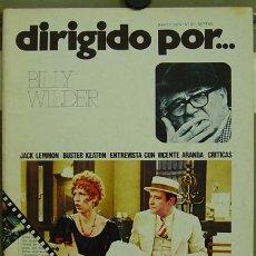 Cine: DIRIGIDO POR... Nº 21 BILLY WILDER BUSTER KEATON. Lote 3968735