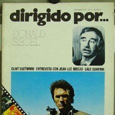 Cine: DIRIGIDO POR... Nº 17 DONALD SIEGEL CLINT EASTWOOD. Lote 25805805