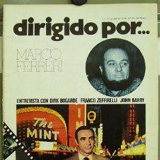 Cine: DIRIGIDO POR... Nº 15 MARCO FERRERI DIRK BOGARDE. Lote 3968842