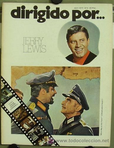 DIRIGIDO POR... Nº 6 JERRY LEWIS (Cine - Revistas - Dirigido por)