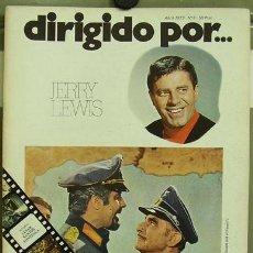 Cine: DIRIGIDO POR... Nº 6 JERRY LEWIS . Lote 3968984