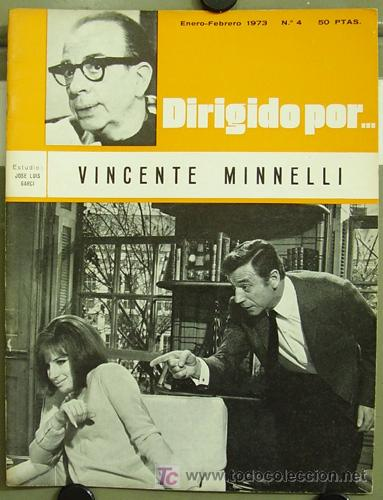 DIRIGIDO POR... Nº 4 VINCENTE MINELLI (Cine - Revistas - Dirigido por)