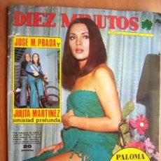 Cine: DIEZ MINUTOS Nº 1165 FECHA 22/12/73 EN PORTADA- PILAR VELAZQUEZ (2 PÁGINAS). Lote 17114312