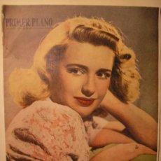 Cine: REVISTA PRIMER PLANO, 1949. Lote 25257885