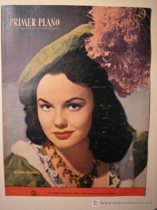 PRIMER PLANO 1950 (Cine - Revistas - Primer plano)