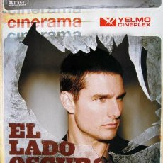 Cine: TOM CRUISE REVISTA CINERAMA DE OCTUBRE DEL 2004. Lote 27289101