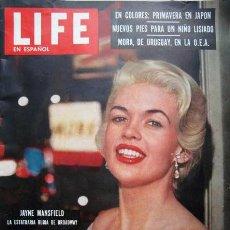 Cine: JAYNE MANSFIELD REVISTA LIFE DEL 4 DE JUNIO DE 1956. Lote 27442885
