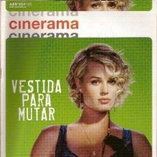 Cine: REVISTA 'CINERAMA', Nº 105. ABRIL 2003. REBECCA ROMIJN-STAMOS EN PORTADA.. Lote 19636494
