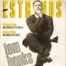 Cine: REVISTA 'ESTRENOS', Nº 80. ENERO 2001. TOM HANKS EN PORTADA.. Lote 19636501