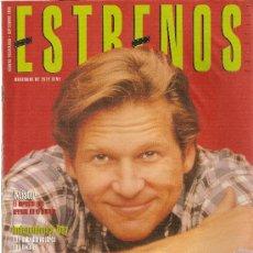 Cine: REVISTA 'ESTRENOS', Nº 32. SEPTIEMBRE 1996. JEFF BRIDGES EN PORTADA.. Lote 6171272