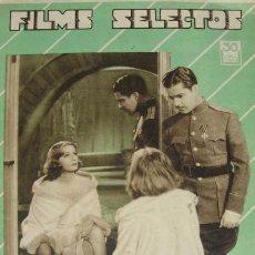 Cine: REVISTA GRETA GARBO Y RAMON NOVARRO FILMS SELECTOS DEL 22 DE OCTUBRE DE 1932. Lote 27375421