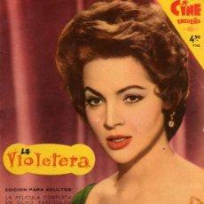 Cine: CIEN ENSUEÑO LA VIOLETERA Nº4 CON SARA MONTIEL. Lote 4649700