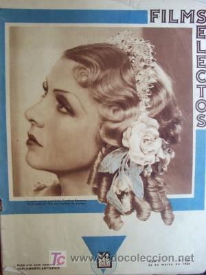 FILMS SELECTOS Nº 180 FECHA 24 MARZO 1934 (Cine - Revistas - Films selectos)