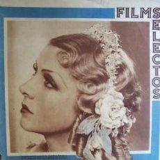 Cine: FILMS SELECTOS Nº 180 FECHA 24 MARZO 1934. Lote 12704409