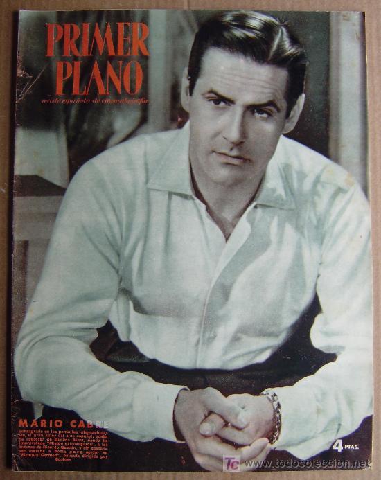 REVISTA PRIMER PLANO Nº 635 DE 14/12/1952 (PORTADA: MARIO CABRE - DENTRO: CARMEN SEVILLA) (Cine - Revistas - Primer plano)