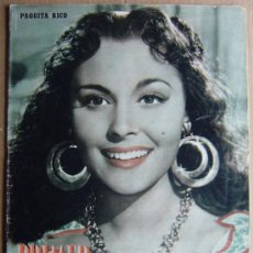 Cine: REVISTA PRIMER PLANO Nº 653 DE 19/04/1953 (PORTADA: PAQUITA RICO - DENTRO: CARMEN SEVILLA). Lote 27157750