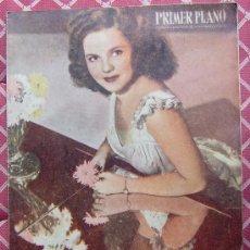Cine: REVISTA PRIMER PLANO Nº 422 DE 14/11/1948 (PORTADA: SHIRLEY TEMPLE). Lote 9593573